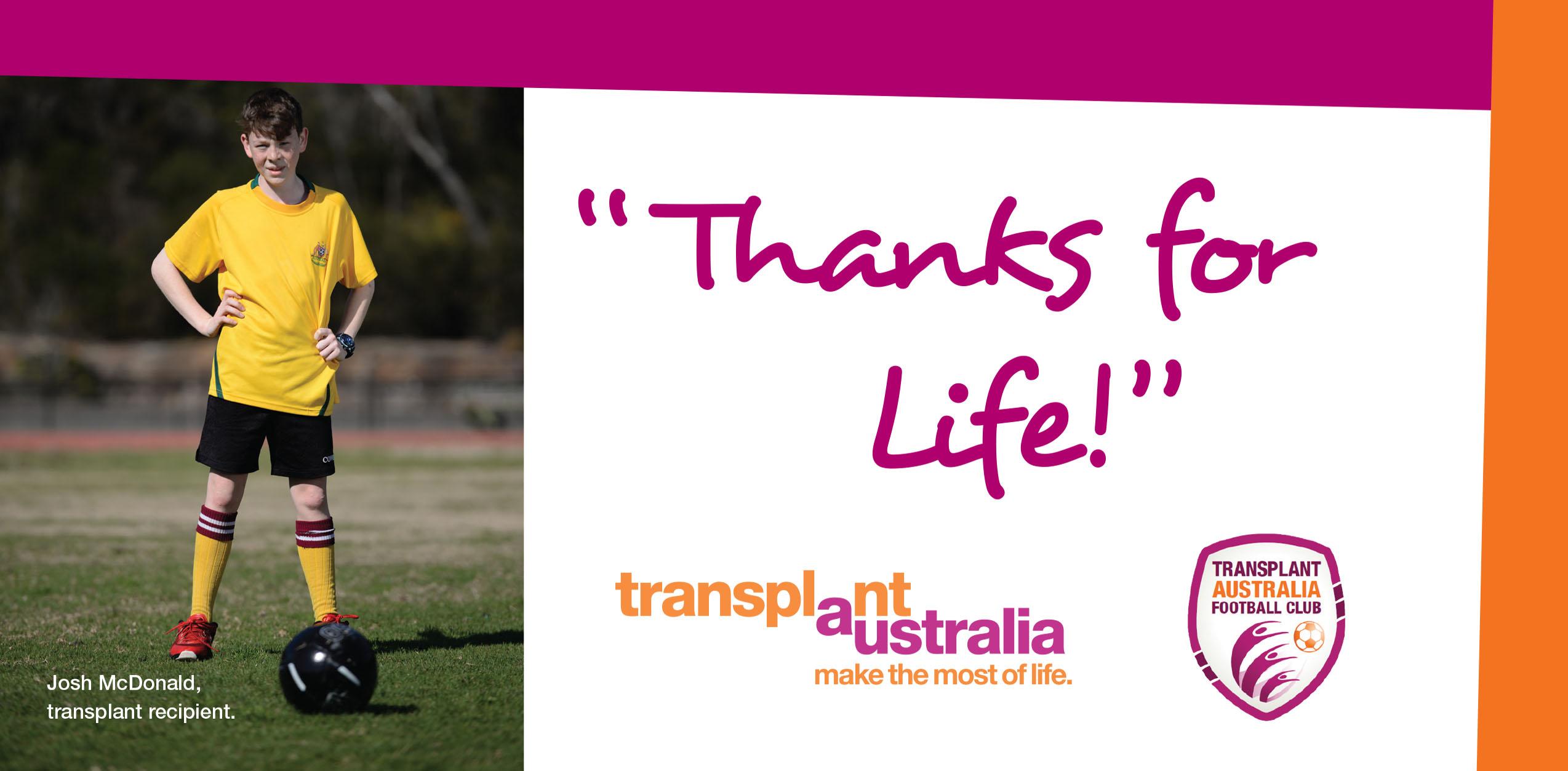 Transplant Aus 2016 Soccer Postcard FA-1