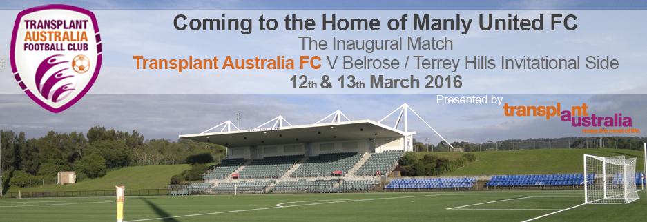 Transplant Australia Football Club match at Cromer Park, Manly