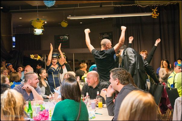 At the 2015 Giving For Life trivia night for Careflight, photo courtesy of the Giving For Life website