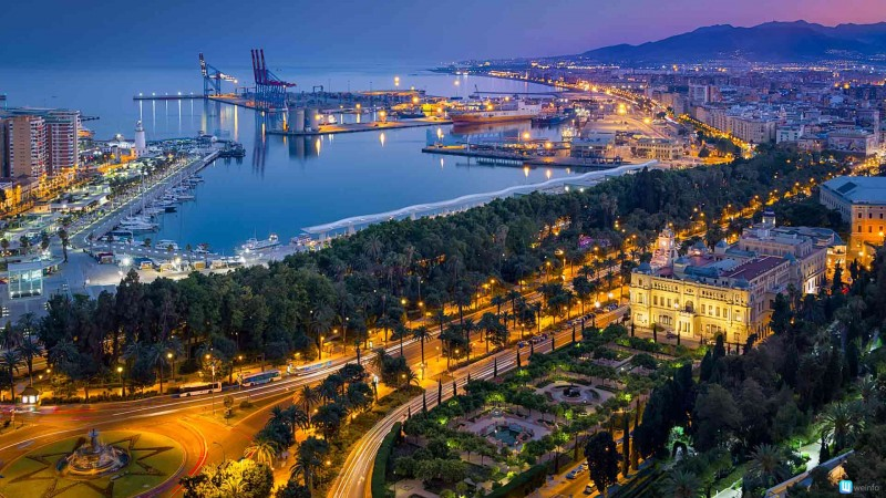 The port city on southern Spain's Costa Del Sol has beautiful beaches and fantastic nightlife