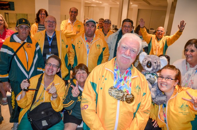 Team Transplant Australia at the World Transplant Games in Argentina, 2015