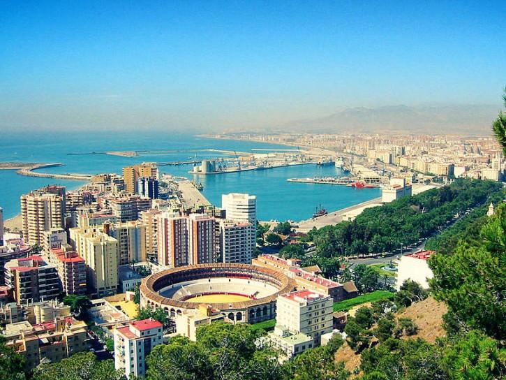 View of Málaga, Espana