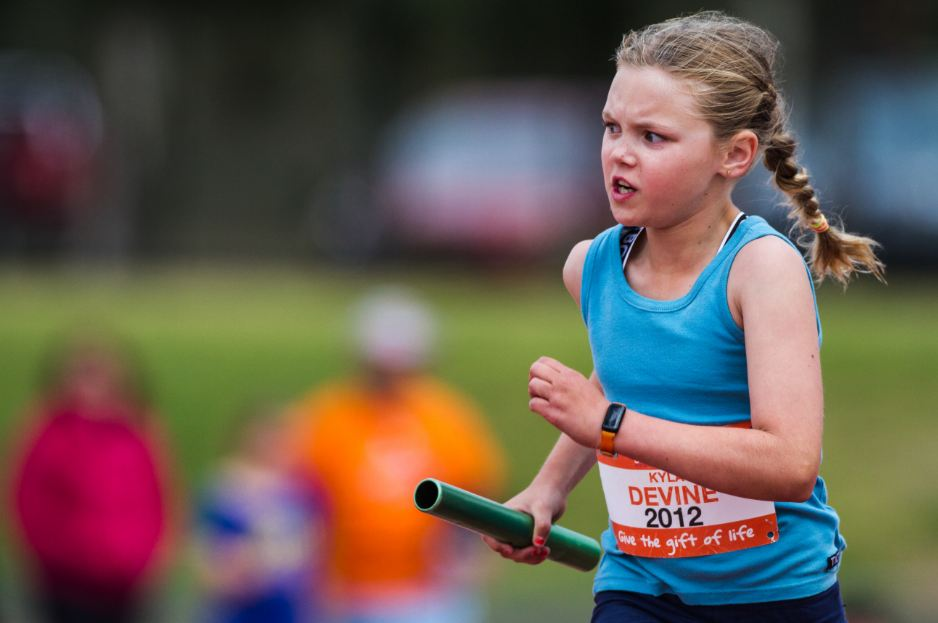 Top athlete: Kyla won several medals for NSW at the Transplant Games