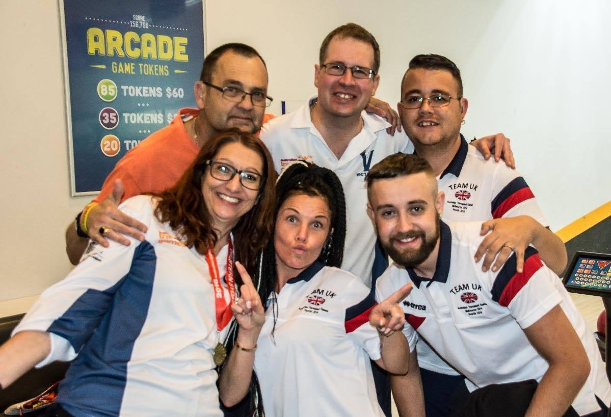 Some of the Vicmanian Team at the Western Sydney Transplant Games, photo courtesy of Mark Dinnar