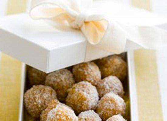 Apricot Chocolate balls recipe
