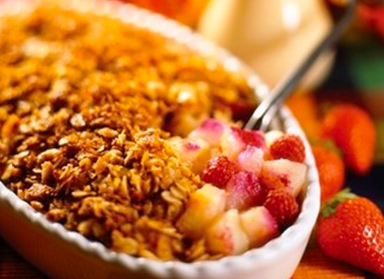 apple and raspberry crumble recipe