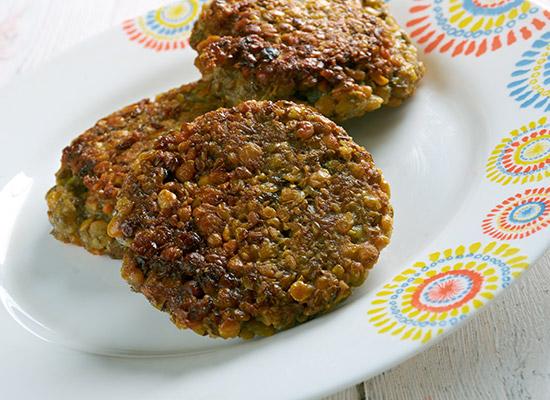 lentil patties recipe