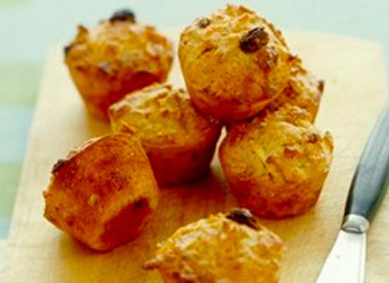 mini muesli muffin recipe