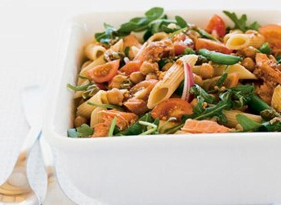 salmon pasta salad recipe