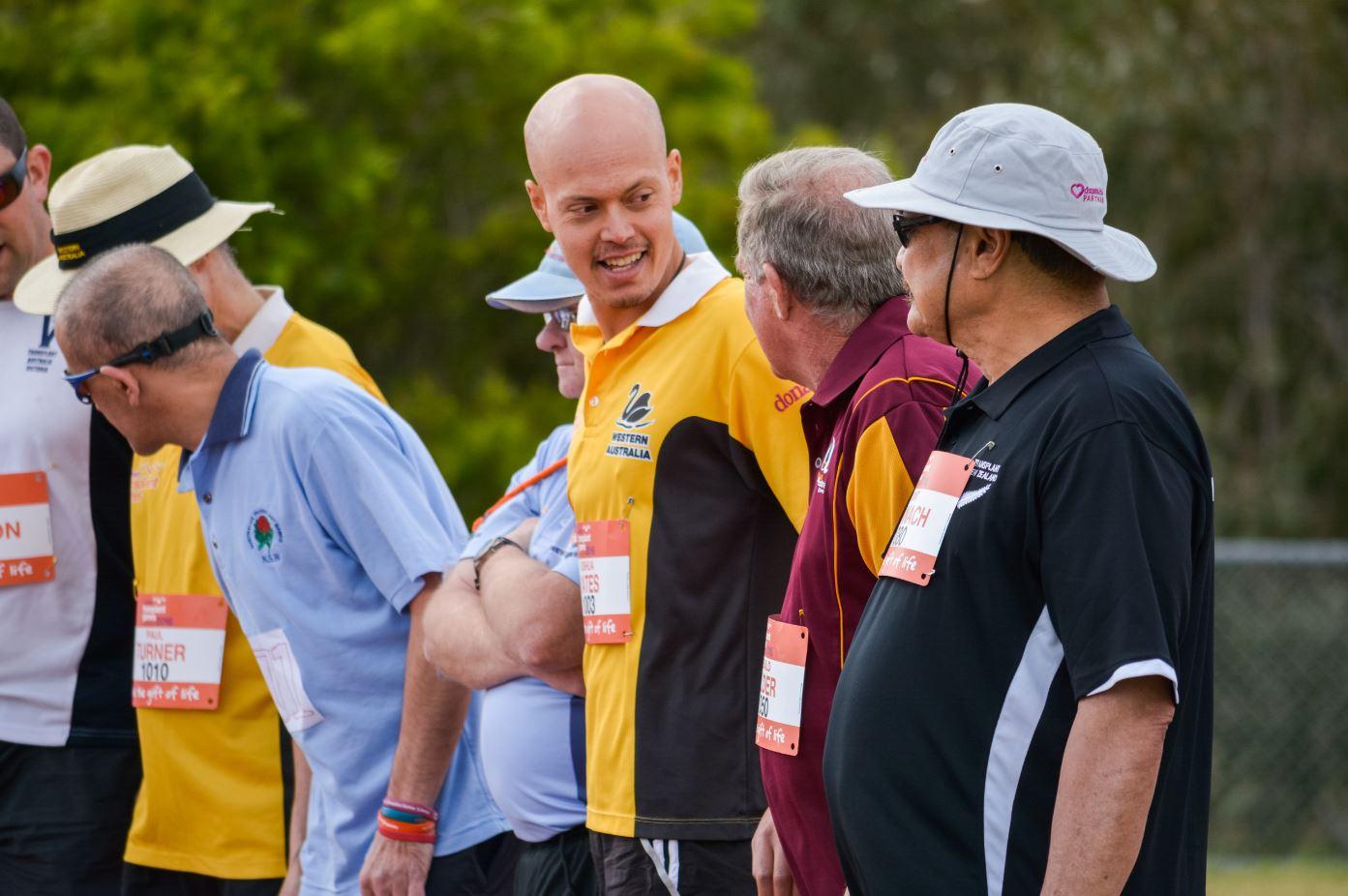 WA's Joshua Yates will work on his speed training at the Australian Institute of Sport
