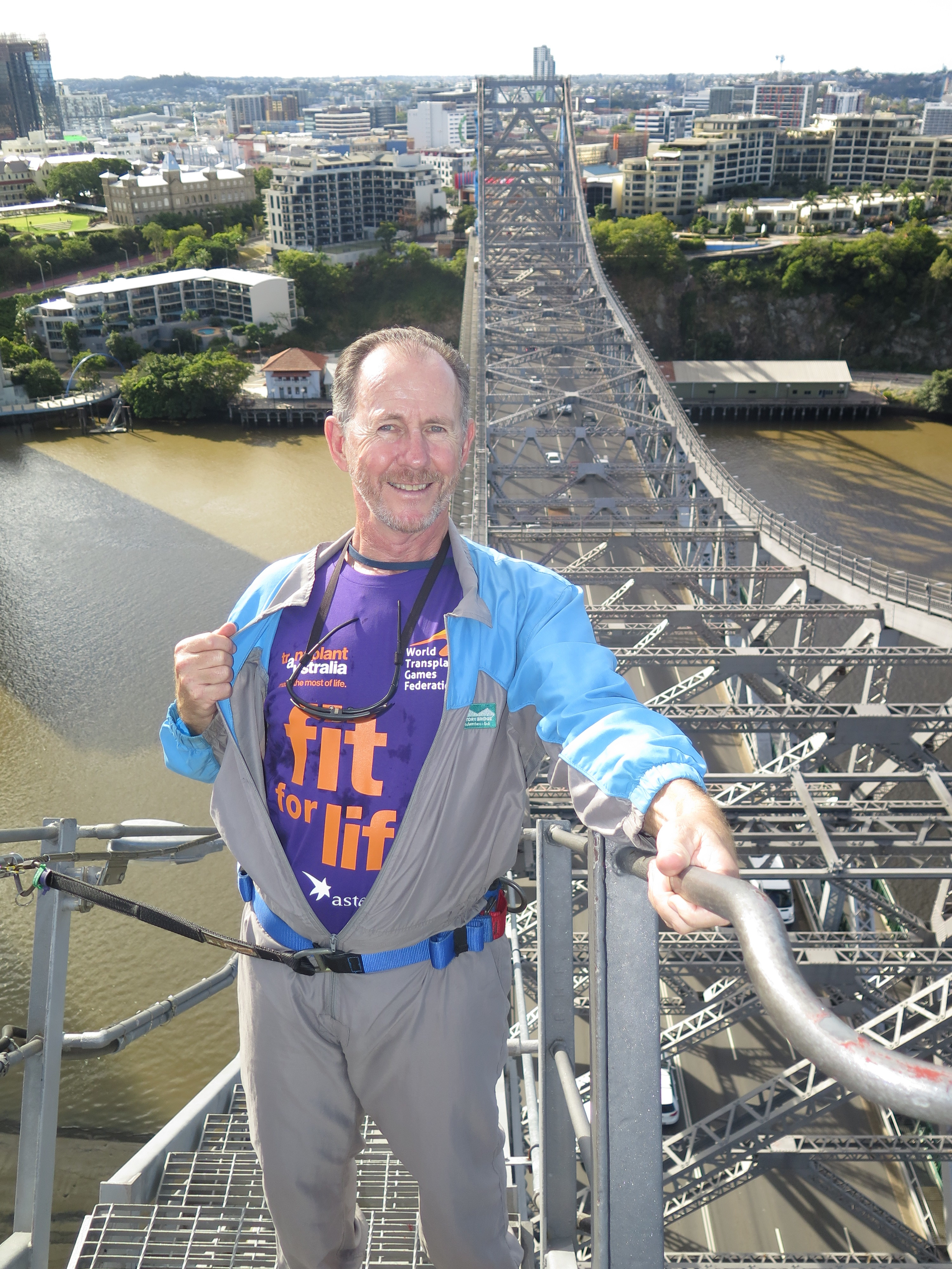 NSW's first Fit for Life Ambassador, Peter Champion