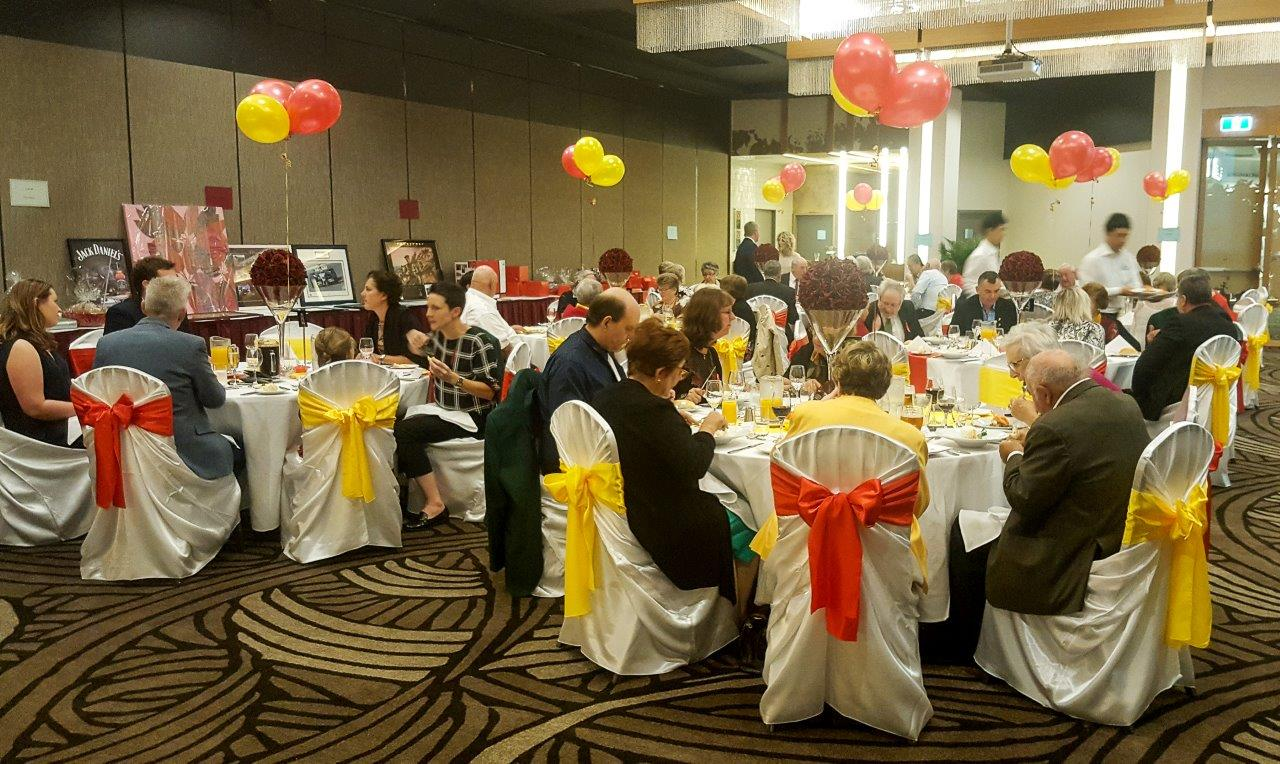 Spanish colours at NSW's Miracle Dinner in honour of the World Transplant Games in Málaga