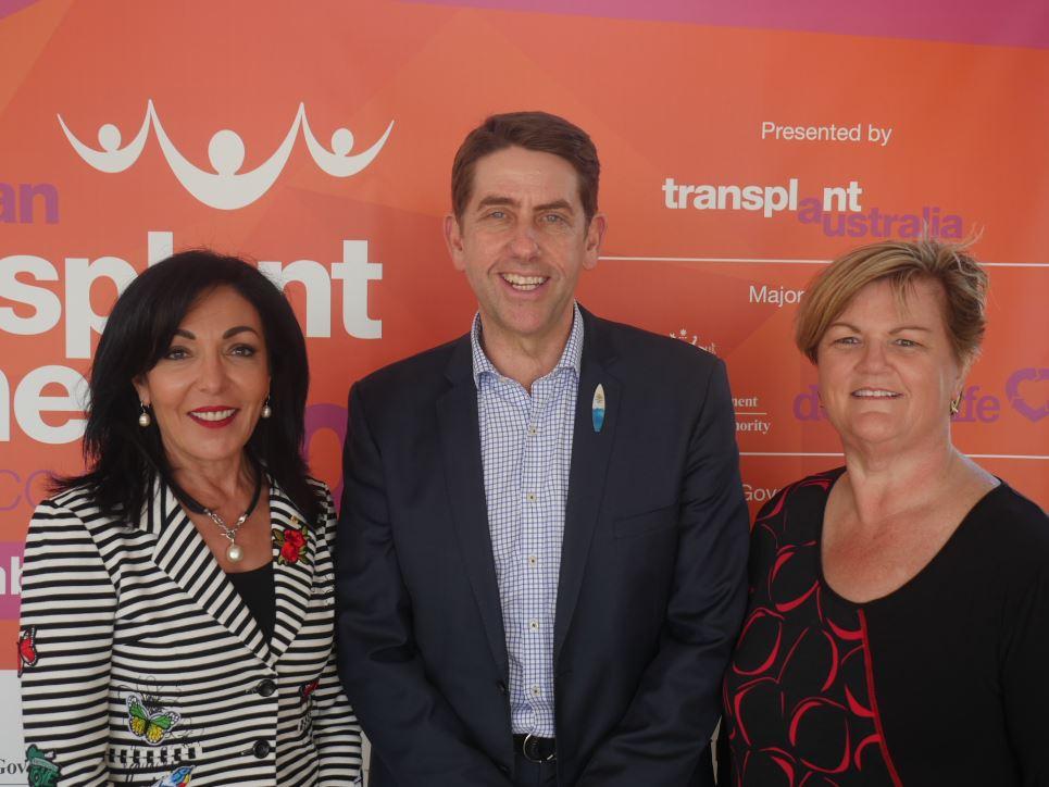 Health Minister & Mayor announce ATG