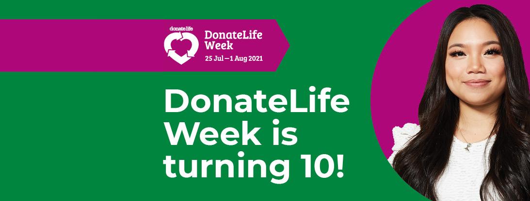 Donatelife Week turning 10